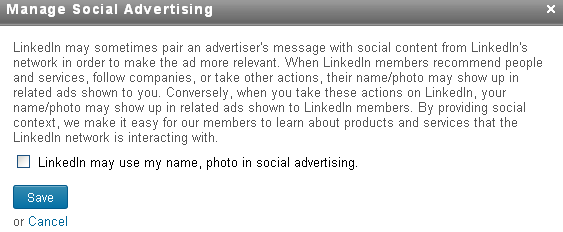 Social Advertising Introduced By LinkedIn