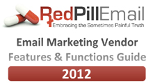 2012 – Red Pill Email Vendor Guide Now Available
