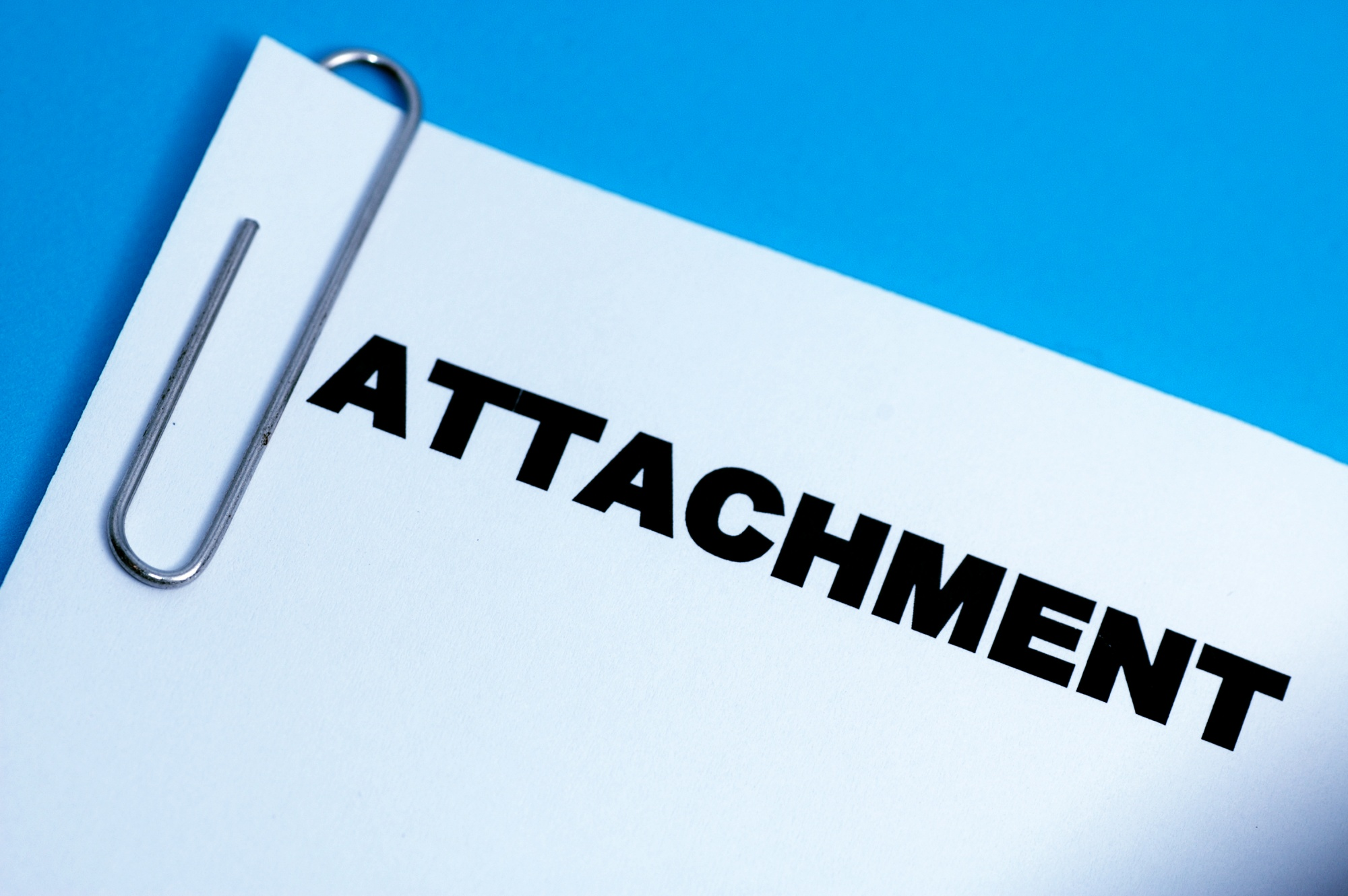 Sending Attachments in email