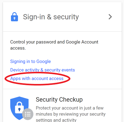 Disconnecting third party apps from your Gmail account